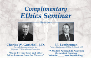 2013 Complimentary Ethics Seminar