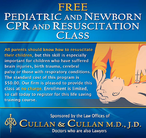 Free Pediatric & Newborn CPR & Resuscitation Class